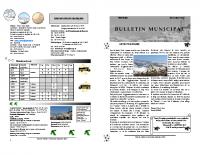 Bulletin  Decembre 2016