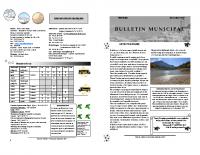 Bulletin Decembre 2017
