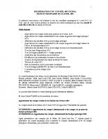 Conseil municipal du 14 Avril 2015