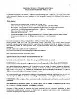 Conseil municipal du 19 Mars 2015