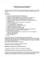 Conseil municipal du 22 Mars 2016