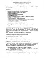 Conseil municipal du 27 Mai 2015