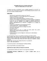 Conseil municipal du 29 Aout 2017